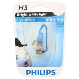 Лампа  PHILIPS H3 12V 55W 12336CVB1 - фото