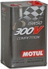 MOTUL 300V Competition SAE 15W50 5л - фото