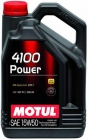 MOTUL 4100 Power SAE 15W50 5л - фото