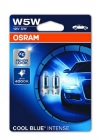 OSRAM COOL BLUE INTENSE W5W 12V 5W W2.1x9.5d 2шт - фото