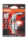 OSRAM NIGHT BREAKER LASER H4 12V 60/55W P43t 1шт - фото