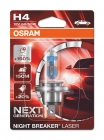 OSRAM H4 12V 60/55W P43T / NIGHT BREAKER® LASER +150% (БЛИСТЕР) - фото