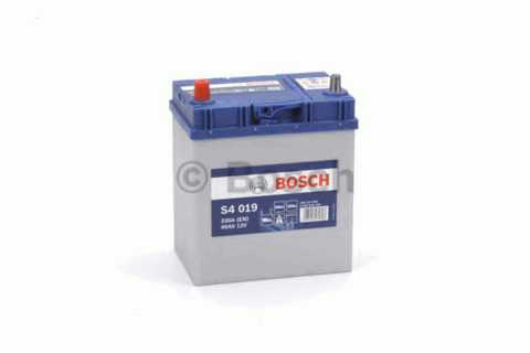 BOSCH 6СТ-40 Аз S4 Siver Asia (S40190) (187x127x200)