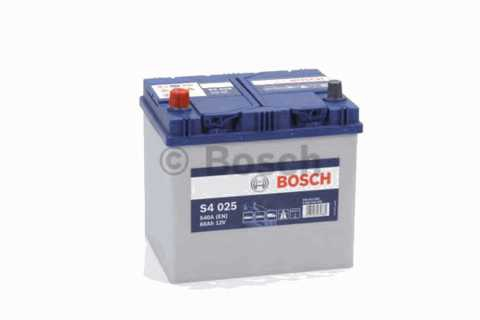 BOSCH 6СТ-60 Аз S4 Silver Asia (S40250)