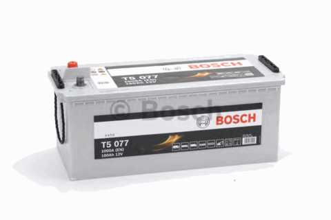 BOSCH 6СТ-180 Аз T5 Heavy Duty Extra (T50770)